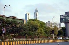 Opiniones de la ciudad de Bombay imagenes de archivo