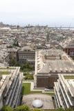 Opiniones de la ciudad de Génova. Foto de archivo
