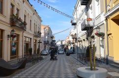 Opiniones de la ciudad de Tbilisi, Georgia Fotos de archivo