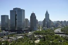 Opiniones de la ciudad de Urumqi Imagenes de archivo