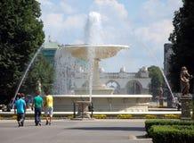 Opiniones de la ciudad de Varsovia Foto de archivo libre de regalías