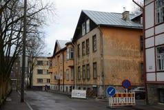 Opiniones de la ciudad de Tallinn fotos de archivo libres de regalías