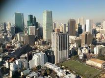 Opiniones de la ciudad y opiniones de la torre Imagen de archivo