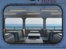 Opiniones de la ventana en un transbordador Fotografía de archivo libre de regalías