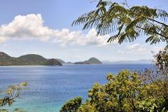 Opiniones de las Islas Vírgenes fotos de archivo