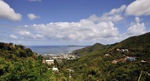 Opiniones de las Islas Vírgenes foto de archivo