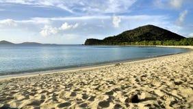Opiniones de las Islas Vírgenes imágenes de archivo libres de regalías