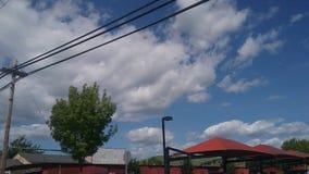 Opiniones del cielo Fotos de archivo libres de regalías