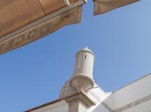 Opiniones del fuerte, Sesimbra fotografía de archivo