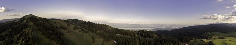 Opiniones del lago sobre Ginebra, Suiza imagen de archivo