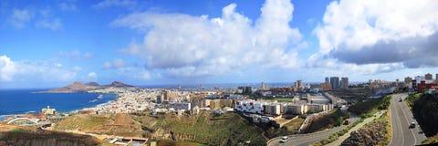 Opiniones del Las Palmas de la ciudad fotografía de archivo