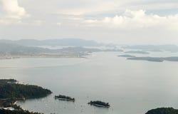 Opiniones del mar Foto de archivo