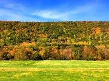 Opiniones del otoño en Connecitcut imagen de archivo libre de regalías