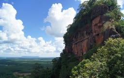 Opiniones del paisaje en la montaña Imagen de archivo libre de regalías