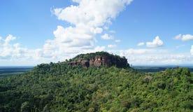 Opiniones del paisaje en la montaña Fotografía de archivo libre de regalías