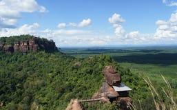 Opiniones del paisaje en la montaña Fotos de archivo