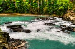 Opiniones del río fotos de archivo