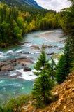 Opiniones del río fotografía de archivo