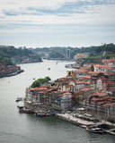 Opiniones del río de Duoro del top Fotos de archivo