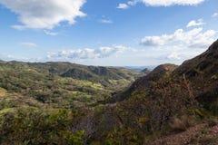 Opiniones del valle en Guanacaste, Costa Rica imagen de archivo libre de regalías