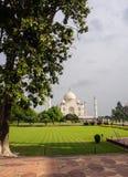 Opiniones Taj Majal foto de archivo libre de regalías