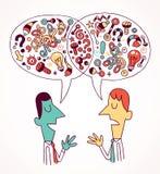 Opiniones y ideas libre illustration