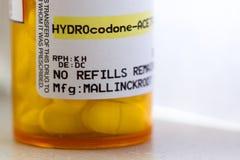 Opioid pijnverlichter royalty-vrije stock foto