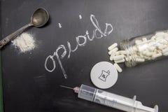 Opioids royaltyfria foton
