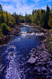 Opishing River Royalty Free Stock Images