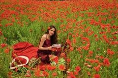 Opiumowy maczek, obrotny biznes, ekologia zdjęcia royalty free