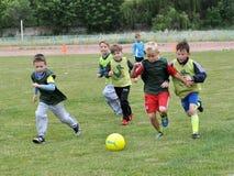 Opleiding jonge players_3 Stock Fotografie