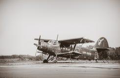 Opleidingsvliegtuigen voor het skydiving royalty-vrije stock fotografie
