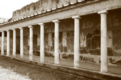 Oplontis portico Royalty Free Stock Photo