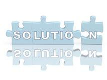 Oplossing Stock Foto's