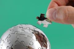 Oplossing voor globaal probleem Royalty-vrije Stock Fotografie