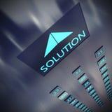 Oplossingslift vector illustratie