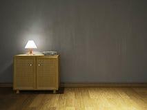 Opmaker en lamp Stock Afbeeldingen