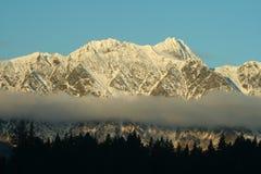Opmerkelijke Bergketen Stock Foto