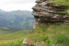 Opmerkelijke Oostenrijkse Alpen Stock Afbeeldingen
