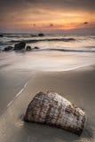 Opmerkelijke zonsondergang Stock Fotografie