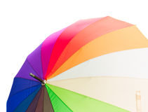 Opne tęczy parasol Fotografia Stock