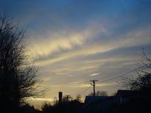Opnieuw mooie hemel 2 Stock Foto's