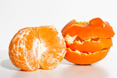 Opnieuw opgebouwde sinaasappel Stock Foto's