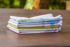 Opnieuw te gebruiken 100 percenten katoenen zakdoeken Royalty-vrije Stock Fotografie