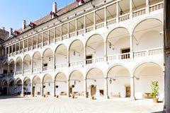 Opocno Palace Royalty Free Stock Image