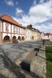 Opocno town in Bohemia Stock Photography