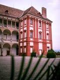 Opocno velho do castelo imagens de stock