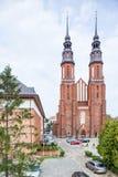 opole Πολωνία Καθεδρικός ναός στοκ φωτογραφίες