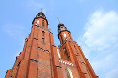 Opole cathedral Royalty Free Stock Photos