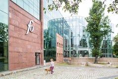 Opole, Poland. Modern Philharmonic building Royalty Free Stock Photo